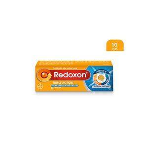 Viên sủi Redoxon Triple Action bổ sung Vitamin C, D, và Kẽm